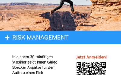 "10. März 2021 | Webinar ""Risk Management"""